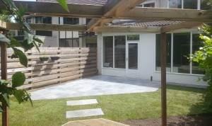 Door onze hoveniers aangelegde tuin