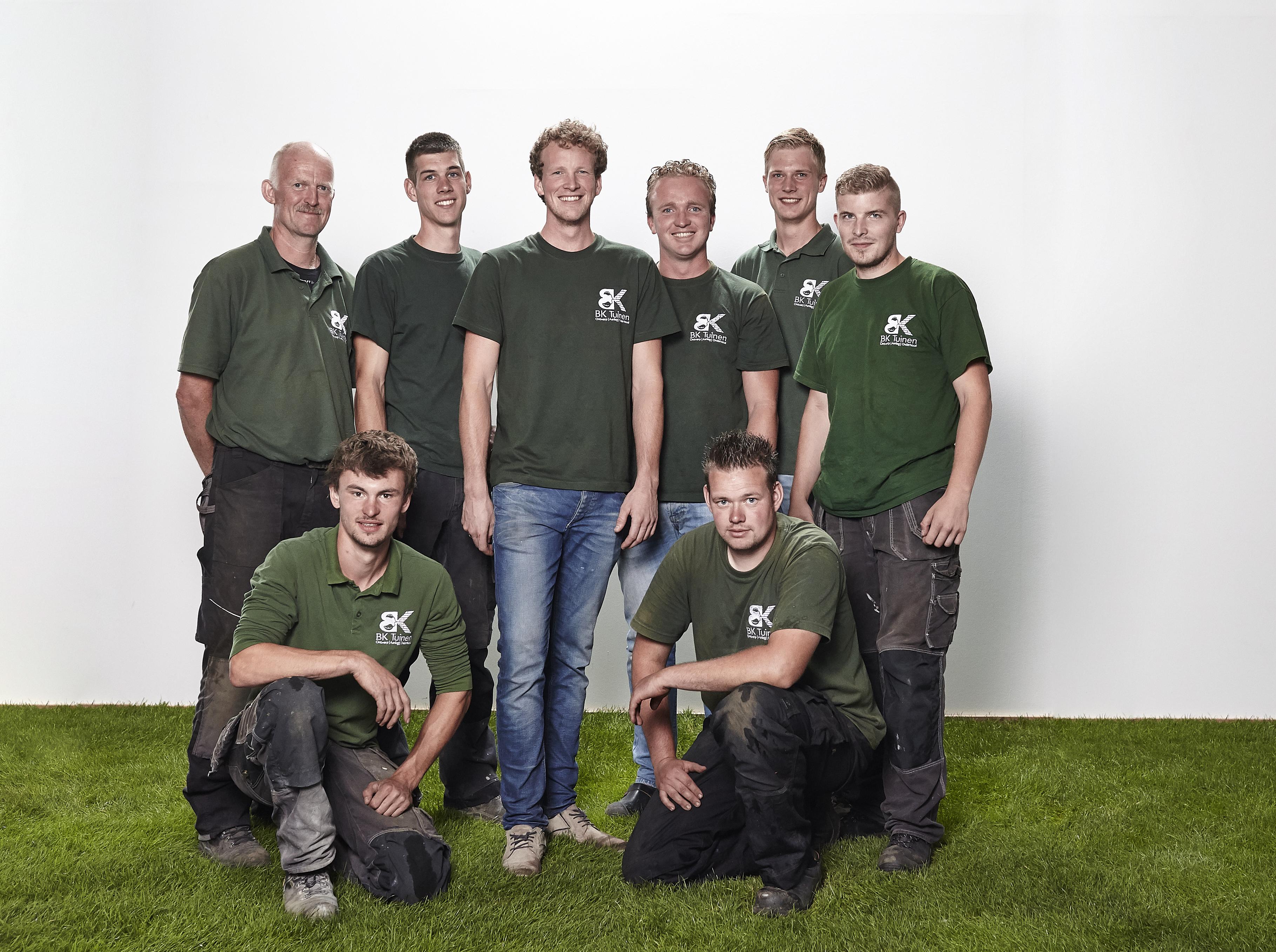 teamfoto BK Tuinen
